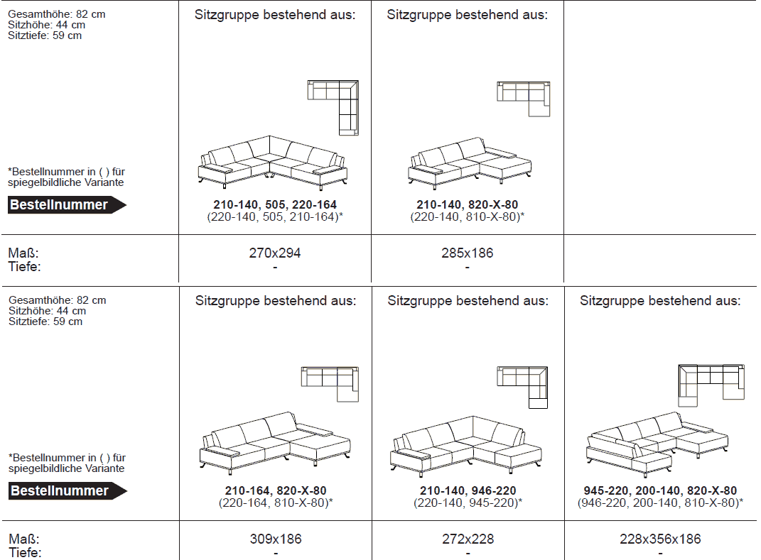 ada tivoli sitzgarnitur sofa couch terra topsofa24. Black Bedroom Furniture Sets. Home Design Ideas