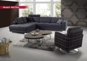 Sitzgarnitur Sedda Mistral Sofa
