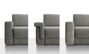 Sedda Couch Genius Armteile
