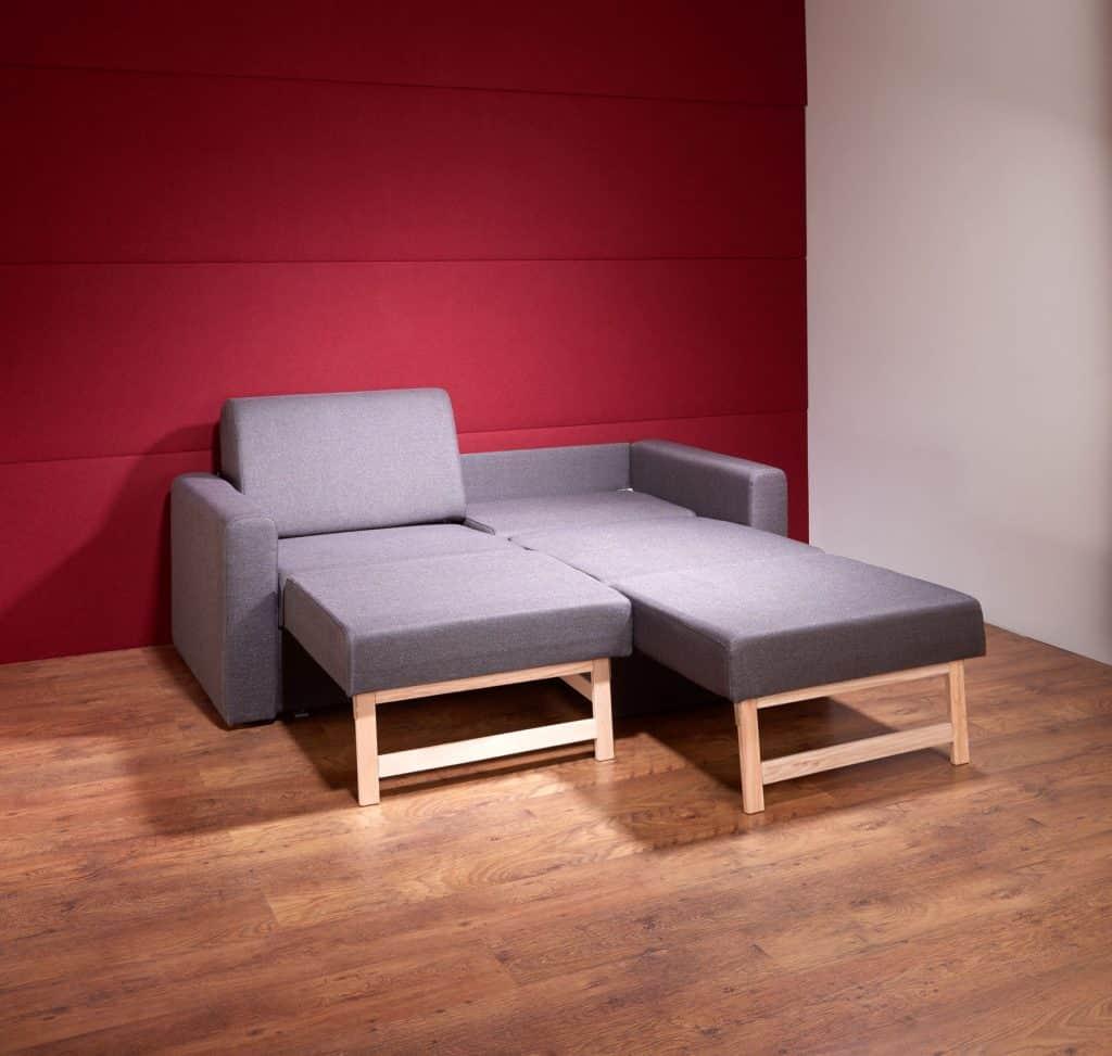 Doppelbettcouch Einzeln Ausziehbar Zuhause